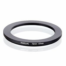 72mm-57mm  72mm to 57mm  72 - 57mm Step Down Ring Filter Adapter for Camera Lens