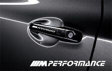 5x M performance BMW neue logo Aufkleber für Türgriff und Außenspiegels