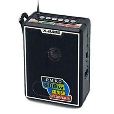 RADIO STEREO PORTATILE LETTORE MP3 FM SD CARD USB