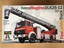 +++ Italeri 1:24 Iveco-Magirus DLK 23-12 Fire Ladder 3784