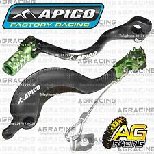 Apico Negro Verde Freno Trasero & Gear Pedal Palanca Para Kawasaki Kx 250 2006 Motox