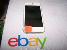 Apple iPhone 5 - 16GB - White & Silver A1429 (CDMA + GSM) - SOLD AS IS