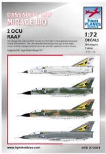 1:72 HIGH PLANES Mirage IIIO 2 OCU RAAF