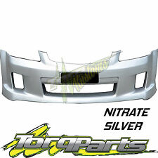 REPLACEMENT FRONT BUMPER NITRATE SILVER SUIT VE COMMODORE SS SV6 S1 BAR COVER