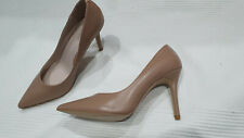 Nine West - 'Victori' - Nude Leather Heels - Size 7.5M