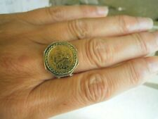 Vintage 9ct  and Fine Gold Angel Ring