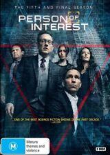 Person Of Interest : Season 5 (DVD, 2017, 3-Disc Set)