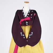"Hanbok Korean Traditional Costume Women Dress Set 한복 L-size 5' 2"" (159cm)  72021"