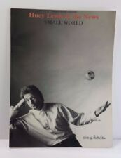 Huey Lewis & The News Small World Piano Vocal Guitar Music Book 1988