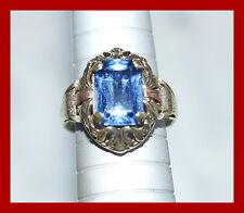 Antiker Ring mit Schmuckstein - Gold 585 - 14 Karat (# 4730)