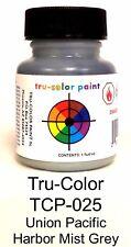 Tru-Color TCP-025 UP Union Pacific Harbor Mist Grey 1 oz Paint Bottle
