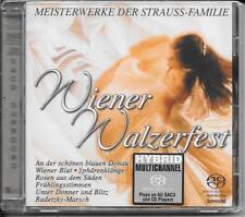 SACD Strauss Familie `Wiener Walzerfest` Neu/New/OVP Rare Hybrid