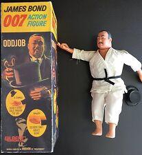 Vintage 1965 James Bond Agente Secreto 007 impar de trabajo con peligroso Derby 10 pulgadas AC