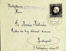 BOSNIA HERZEGOVINA AUSTRIA 1918 KUK FELDPOST FRANZ JOSEF ON COVER TO HUNGARY