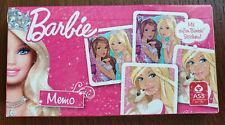 Kartenspiel - Barbie Memo - von Cartamundi