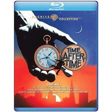 TIME AFTER TIME (Malcolm McDowell) BLU RAY Sealed Region free for UK