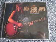 Jon Bon Jovi-Miracle Maxi CD-1990 Germany-Heavy Metal-Rock-Vertigo