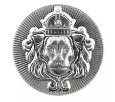 100 gram Silver Round Stacker by Scottsdale Mint .999 Silver Stacker Lion Silver