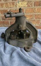 Roper Whitney Jensen 50 Angle Iron Notcher Iron fabrication 2x2x1/4 Dated 1944