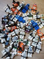 LEGO Starwars minifigure clone trooper squad packs, x5 Figs per order - mix!