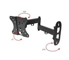 Tilt Swivel LCD LED Plasma Flat Panel TV Wall Mount Bracket hanging 14 - 26""