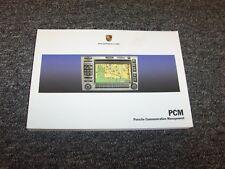 2006 Porsche 911 Carrera Boxster Cayman S PCM Navigation Owner Operator Manual