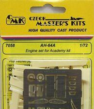 CMK 1/72 AH-64A Apache Motor Set para Academia # 7058