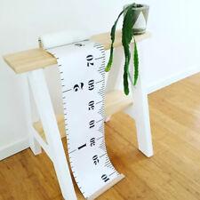 Modern Wall Height Chart Kids Height Ruler Wooden Hanging Growth Chart #1