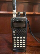 Two Icon Ic-W32A handheld radios