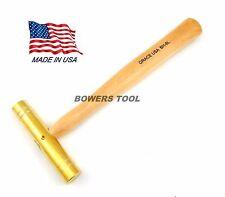 Grace 8oz Brass Hammer Extra Long Gunsmith Gun Care Machinist BH-8L Made in USA