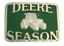 Montana Silversmith John Deere Deere Season Attitude Belt Buckle Tractor