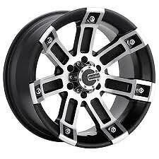 Mamba M-01 M1 Wheel black machined 22x9.5 (1) NEW Chevrolet, Dodge, GMC