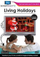 LIVING HOLIDAYS VIRTUAL FIREPLACE & MORE: CHRISTMAS, HALLOWEEN, THANKSGIVING NEW