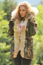 European Parka Winter Jacket Camo / Beige S Org. Price $419.00