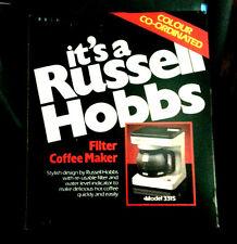 New Russel Hobbs Filter coffee Maker Model #3315