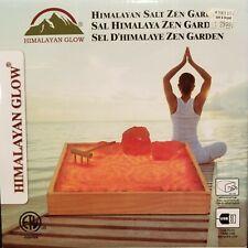 PEACEFUL  Himalayan Glow Tabletop Zen GardenHimalayan Pink Salt NIB