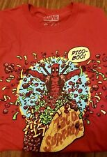 Loot Crate Exclusive May 2018 Red Deadpool 2 Pico-Boo T-Shirt (Size: Medium)