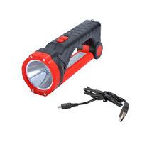 Lampe-torche magnétique rechargeable solaire de projecteur de la puissance