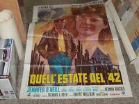 Collectors Estate Del '42 Manifesto 2F Original 1971 Jennifer o' Neill