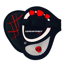 Gripad RX Weight Lifting Gloves – Black & Red