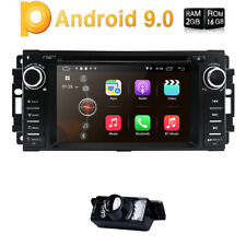 Android 9.0 JEEP WRANGLER JK 07-15 IN DASH GPS DVD NAV HEAD UNIT STEERING STEREO