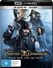 Pirates of the Caribbean: Dead Men Tell No Tales (4K U  - BLU-RAY - NEW Region B
