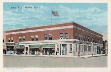 Postcard Allfree Building Newton Iowa IA