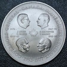 1952-1977 CANADA GOVERNOR GENERALS MEDAL - Eliz. II 25th - Huge