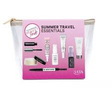Ulta Beauty Summer Travel Essentials 8 piece sampler kit.