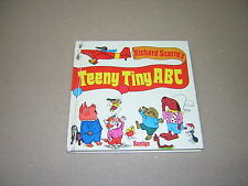 RICHARD SCARRY'S TEENY TINY ABC. 1975 1st UK EDITION ILLUSTRATED CHILDREN'S BOOK