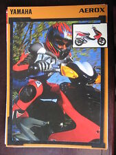 CATALOGUE 1997   YAMAHA SCOOTER AEROX