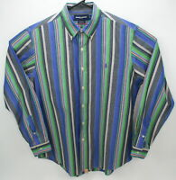 Ralph Lauren Golf custom fit l/s men's shirt large plaid multicolor