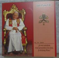 Order of Malta Set of 5 coins 1 lira 2005 Pope John Paul II UNC. Watch video