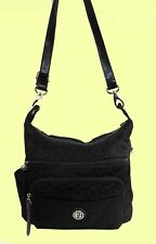 GIANI BERNINI GB Signature Black Shoulder Bag Msrp $129.50 **DISCOUNT 75% OFF**